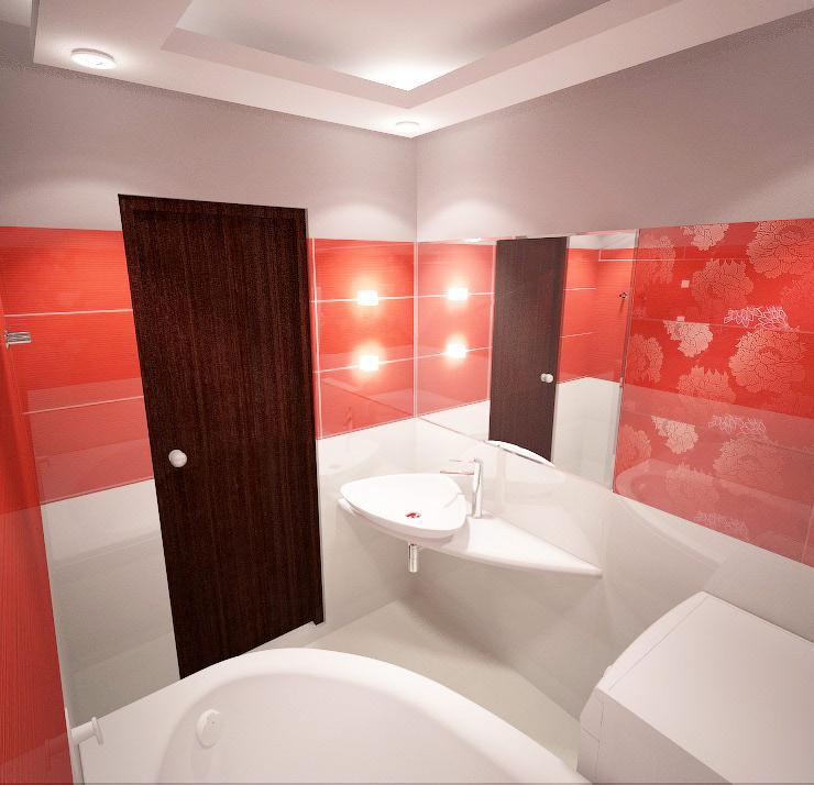 Дизайн-проект ванной в Омске