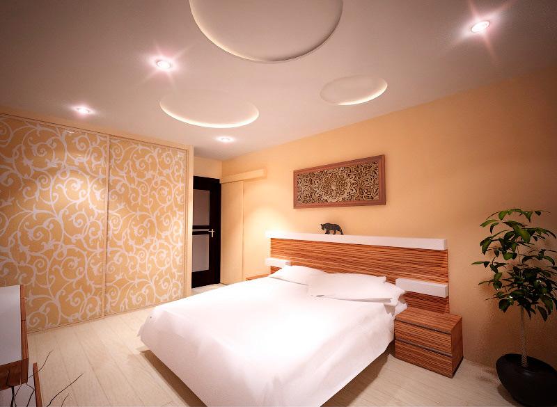 Дизайн-проект спальни в Москве