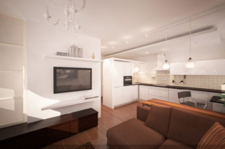 Дизайн-проект квартиры в Челябинске