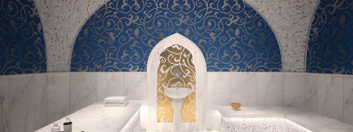 Дизайн-проект хамам в Москве. zdes-design.ru