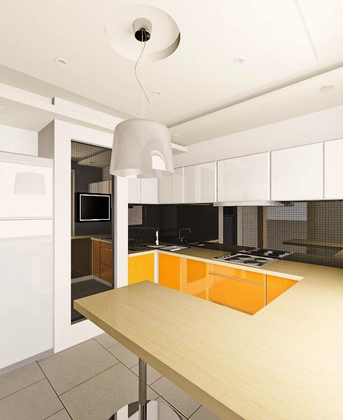 Дизайн-проект кухни в Омске