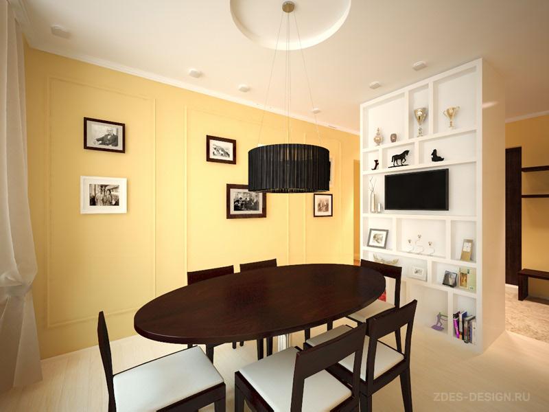 Дизайн-проект столовой в Омске